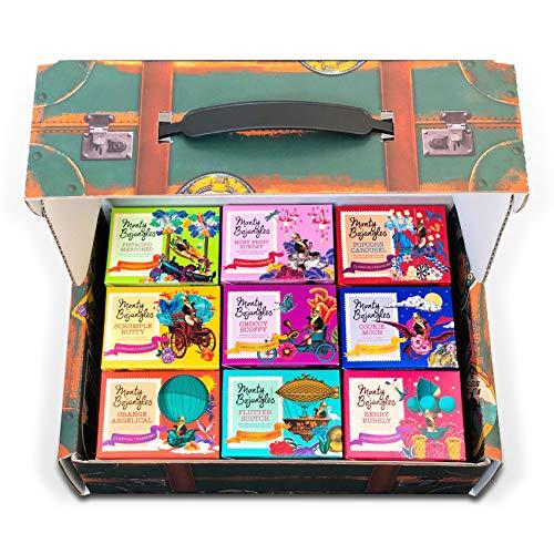 Monty Bojangles 100 Schokoladen Pralinen Geschenkkoffer mit 9 preisgekrönten Geschmacksrichtungen, 900g