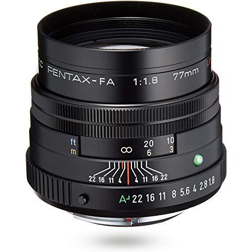 PENTAX リミテッドレンズ 望遠単焦点レンズ FA77mmF1.8 Limited ブラック Kマウント フルサイズ・APS-Cサイ...