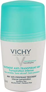 Vichy 48Hr Anti-Perspirant Treatment Roll-On (For Sensitive Skin), 50 ml
