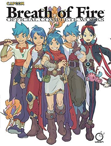 Breath of Fire Official Complete Works Hardcover product image