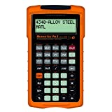 Calculated Industries 4088 Machinist Calc Pro 2 Advanced Machining Calculator | Speeds and Feeds, DOC, LOC and WOC for Materials and Tool settings | Machinists, Setters, Tool & Die Makers, Shop Owners