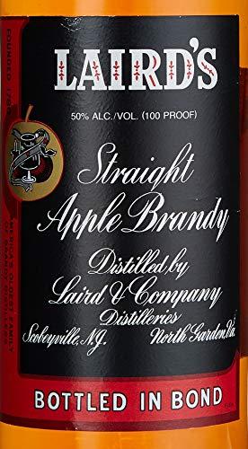 Laird's Straight Applejack Bottled in Bond Brandy - 4