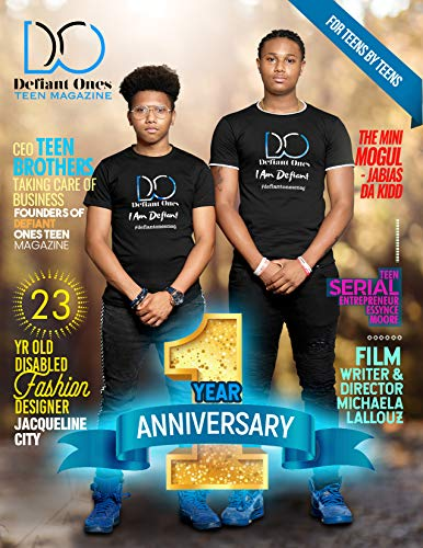 Defiant Ones Teen Magazine: September 2020, Volume 7 (English Edition)
