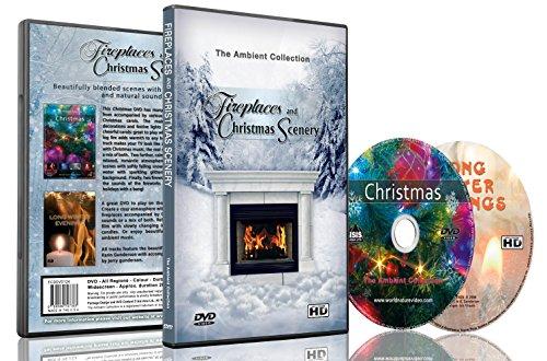 Kamine & Weihnachten Scenery - DVD mit Kamin und Schnee & Weihnachtsschmuck mit Hyms und Musik (2013)
