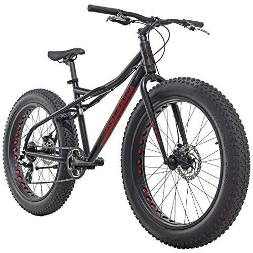 KS Cycling Mountainbike MTB 26\'\' Fatbike SNW2458 Aluminiumrahmen schwarz RH46cm
