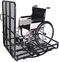 HECASA Mobility Carrier Wheelchair Cargo Electric Scooter Rack Hitch Disability Medical Ramp Luggage Scooter Wheelchair Lawn Mover