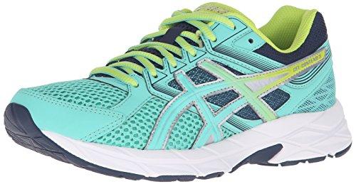 ASICS Women's Gel-contend 3 Running Shoe, Silver/Pistachio/Teal, 8.5 M US