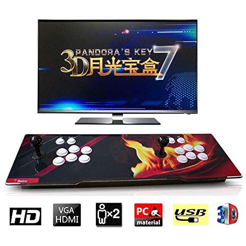 ZQYR GAME# Console de Jeux vidéo Arcade 2350 en 1 Console de Jeux vidéo 1080 HD Retro avec HDMI/VGA USB Console Double Arcade, Model: BZ-6654