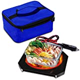 Triangle Power Personal Portable Oven, Electric Slow Cooker For Food,Mini Oven For Meals Reheat,Food Warmer with Lunch Bag(110V)