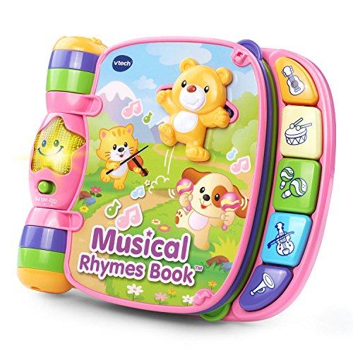 VTech Musical Rhymes Book, Pink