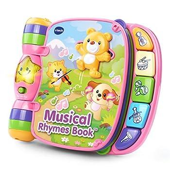 VTech Musical Rhymes Book Pink