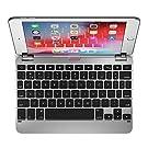 Brydge 7.9 キーボード iPad Mini 第4世代と第5世代に対応 アルミニウム ワイヤレス 回転ヒンジ 180度視野 (シルバー)