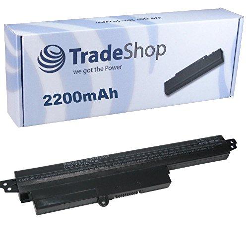 Trade-Shop Premium Akku Li-Ion 11,25V / 2200mAh ersetzt Asus 0B110-00240100E 1566-6868 A31LM9H A31LMH2 A31N1302 für ASUS 200CA-CT161H AR5B125, VivoBook F200CA X200CA X200MA