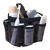 Shower Caddy Tote Felt Insert Purse Organizer Multi Pocket Bag in Bag Handbag Toiletry and Bath Organizer