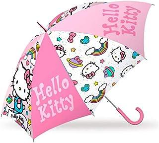ハローキティ こども用 傘 手開き 開閉らくらく 直径70cm 子供用 umbrella kitty [並行輸入品]