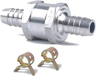 """12mm 1//2 /""""one way aluminium non retour Clapet essence Diesel huile eau"""
