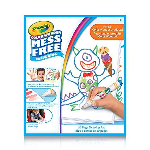 Mess Free, Bloco de Papel - Crayola