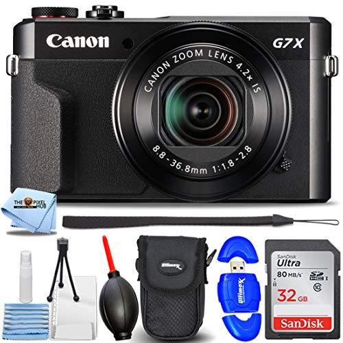 Canon PowerShot G7 X Mark II Digital Camera...