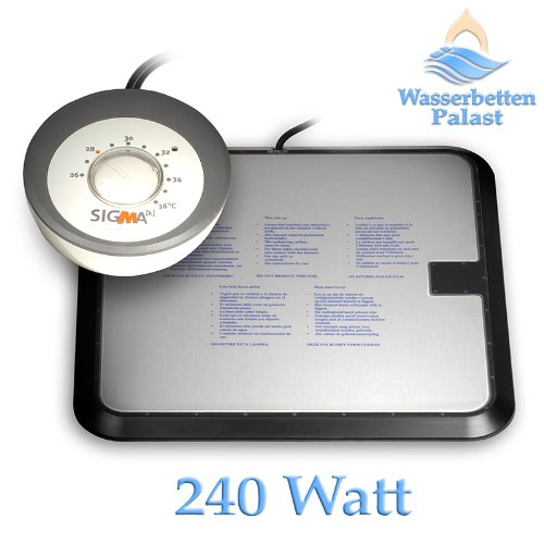 Sigma K 2. Generation - Keramik Wasserbettheizung - 240 Watt