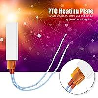 【𝐁𝐥𝐚𝐜𝐤 𝐅𝐫𝐢𝐝𝐚𝒚 𝐒𝐚𝐥𝐞】信頼性の高い頑丈な恒温断熱材PTC加熱プレート、発熱体、ヨーグルトメーカー卵ボイラーコーヒーメーカー用ストレートヘアアイロン(220V120℃)