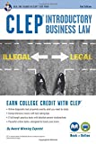 Image of CLEP® Introductory Business Law Book + Online, 2nd Ed. (CLEP Test Preparation)