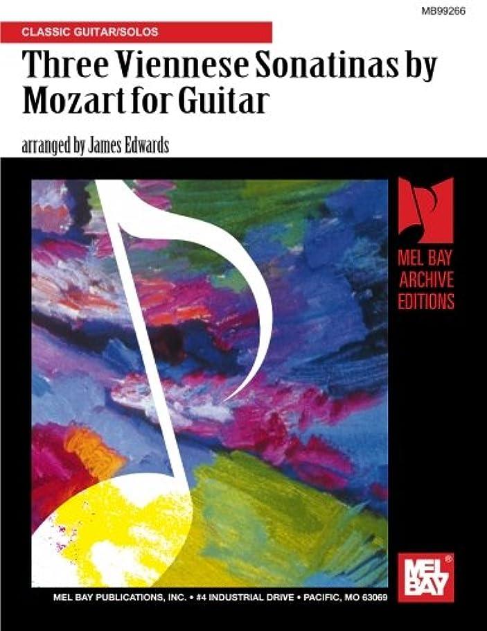 知覚的悲惨友情Three Viennese Sonatinas by Mozart for Guitar: Classic Guitar/Solos