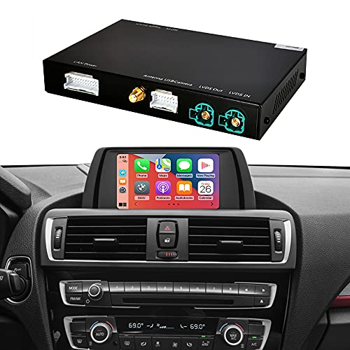 Road Top Kit di retrofit Decoder con Apple Wireless CarPlay Android Auto Mirror Link Navigation per BMW F20 F21 F22 F23 F30 F31 F32 F33 F34 F36 F80 2011-2015 Anno