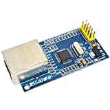 Requires an microcontroller development board (not included) Operating voltage 5V (supplied from the development Board) SPI (Serial Peripheral Interface) provides an easy interface connected to the external MCU. The W5500 supports up to 80MHZ SPI com...