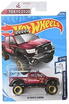 DieCast Hotwheels  10 Toyota Tundra Tokyo 2020 2/10 [red] 183/250