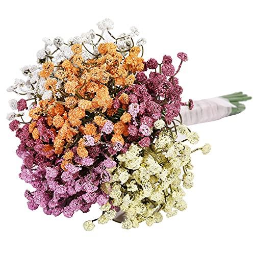 20 Stücke Künstliche Gypsophila Schleierkraut Kunstblumen Blume Mischfarben Gefälschte Blumen für Hochzeit Party Haus DIY Dekoration