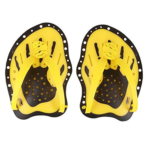 evergremmi Professionale Swim Training Paddle Palette a Mano Power Paddles, Guanti da Nuoto Nuoto Pala Paddle Large Flat Paddles per Swimmer Beginner