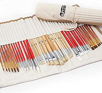38-Piece Artify Paint Brushes Art Set