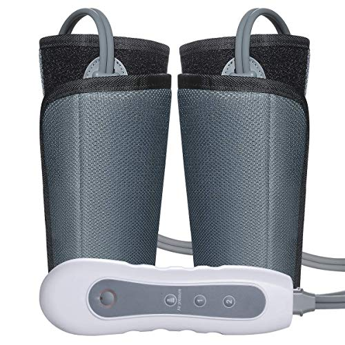 Leg Air Massager for Circulation Calf Arm Compression Wraps Massage for Muscle Relaxation with Handheld Controller 4 Modes 3 Intensities