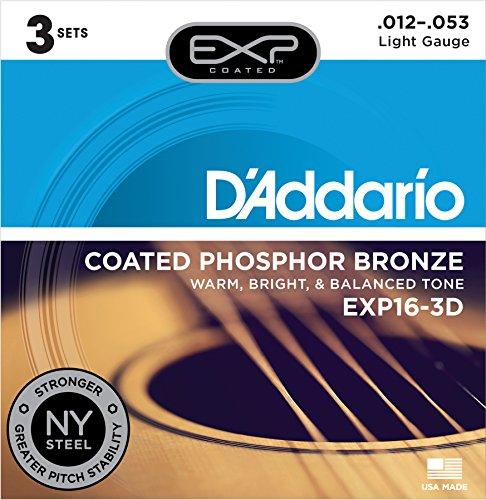 D'Addario Acoustic Guitar Strings (EXP16-3D)