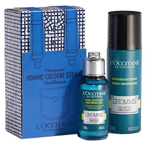 L'occitane - l'occitane cologne cedrat spray deodorant 130ml set 2 parti 2019 - btsw-179634
