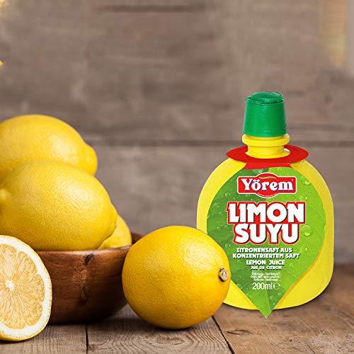 12 Stk Zitronensaft ( je. 200ml )100% Aus Konzentriertem Saft - Lemon Juice - Jus de Citron