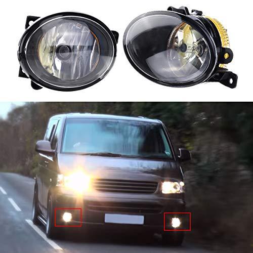 Niceen - Faros antiniebla delanteros para coche con luz ámbar para VW T5 T5.1 Transporter 2010 en adelante