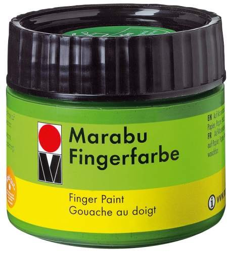 Marabu Fingerfarbe, hautfarbe, 100 ml, in Kunststoffdose VE=1