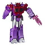 Transformers Toys Cyberverse Ultimate Class Shockwave Action Figure - Combines with Energon Armor to Power Up - for Kids Ages 6 and Up, 9-inch