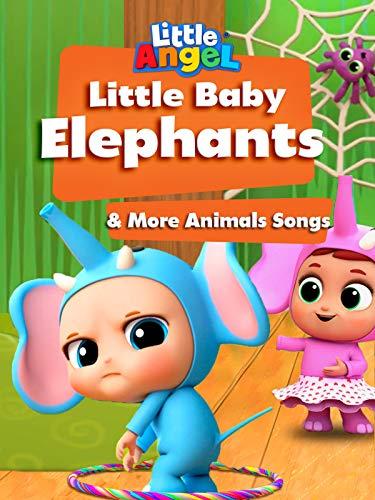 Little Baby Elephants & More Animals Songs - Little Angel