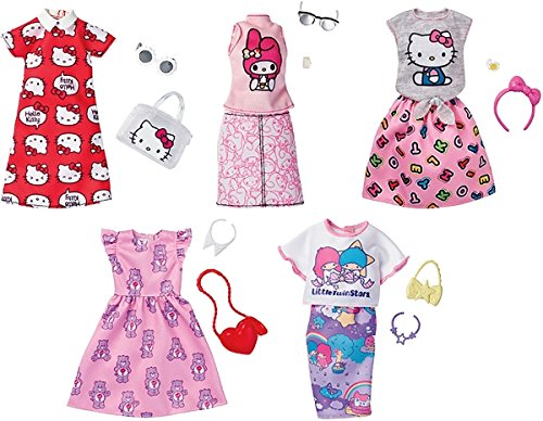 Mattel Barbie Outfit Licencias (446FKR66)