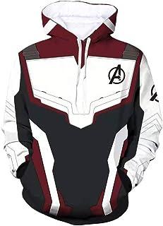 9a5f4af2 Unisex Av.enger's Endgame Hoodie Superhero Hoodie Adult Sweatshirt Jacket  Sweatpants for Halloween Cosplay Costume