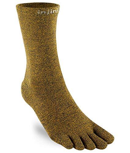 Injinji Liner Crew Coolmax Royal Toe Socks Unisex Size : 40-44