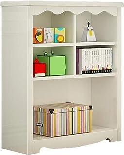 本棚収納ユニットディスプレイスタンド木製棚キッチンリビングルームベッドルーム白