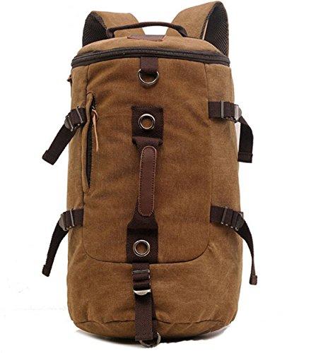 Elegante grote capaciteit mannen reistas/bergrugzak/wandelen Camping rugzak/Gym Bag/Laptop rugzak/Schoudertas/Retro Canvas Weekend Travel Duffel Bag