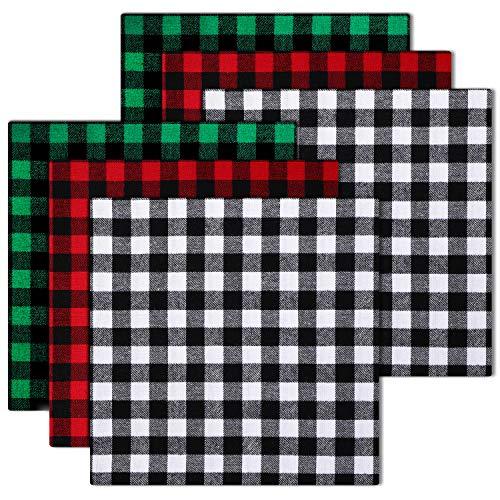 Christmas Buffalo Plaid Cotton Fabric