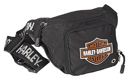 HARLEY-DAVIDSON Logo Belt Bag, Black