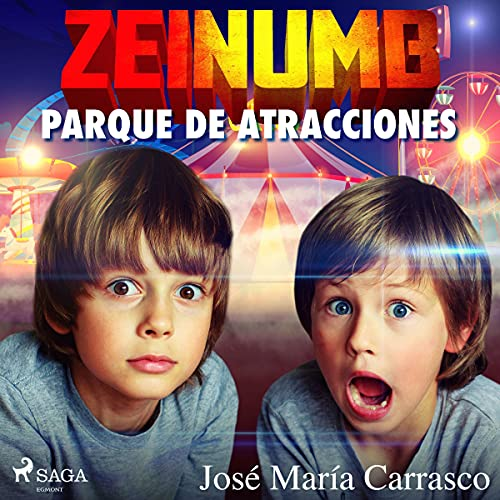 Diseño de la portada del título Zeinumb. Parque de atracciones
