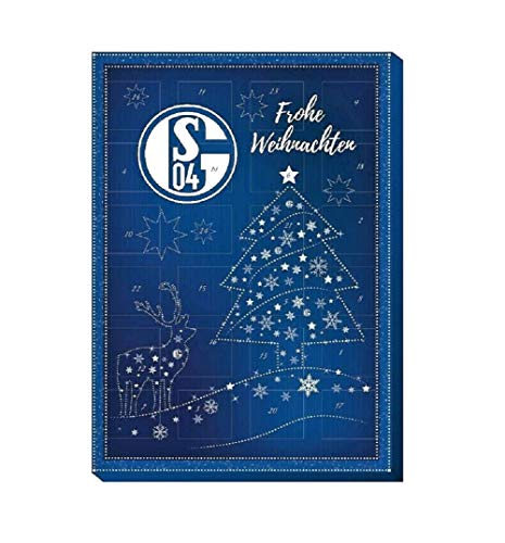 Fan-Shop Sweets FC Schalke 04 Klassik Adventskalender 2020 (one Size, Multi)