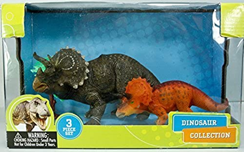 Discovery Kids Dinosaur 3 Pcs Playset by East West Distributing